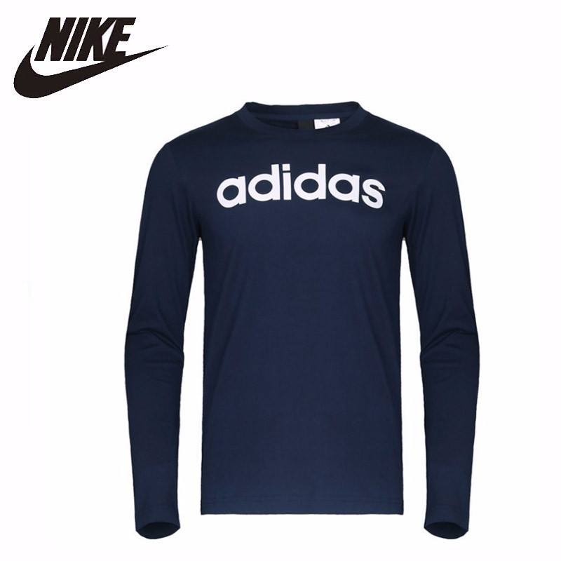 Adidas Sa Ls Tee Lnr Original New Arrival Mens Running T-shirts Long Sleeve Sportswear #CF4959 Adidas Sa Ls Tee Lnr Original New Arrival Mens Running T-shirts Long Sleeve Sportswear #CF4959