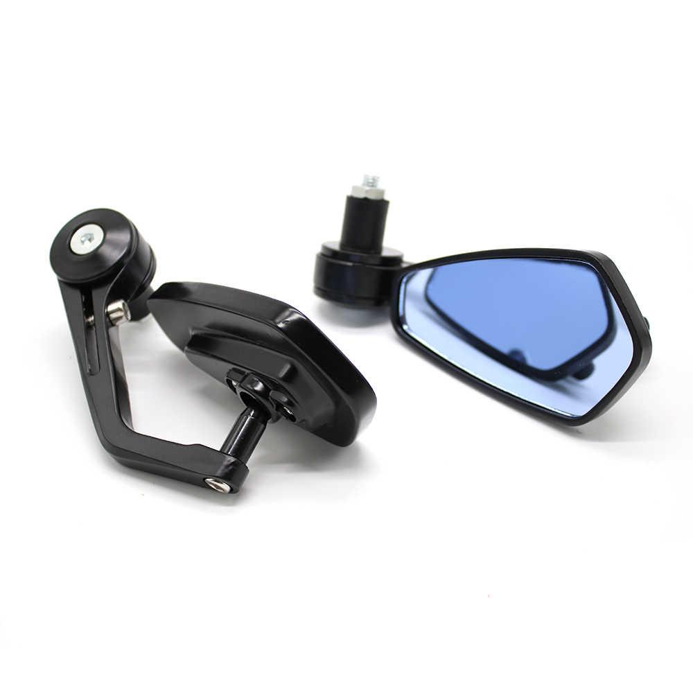 Motor Cermin Stang Akhir Kaca Cermin untuk Yamaha Jym 125 YZF R3 Mt03 Masa Depan Yzf-r1m Cygnus GT Mt-07 Ys 250.