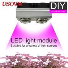 DIY Module Bricolage Dimmable Meanwell CREE CXB3590 COB LED Grow  Light 100W 200W Growing Lamp Indoor Plant Full Spectrum Tent недорого