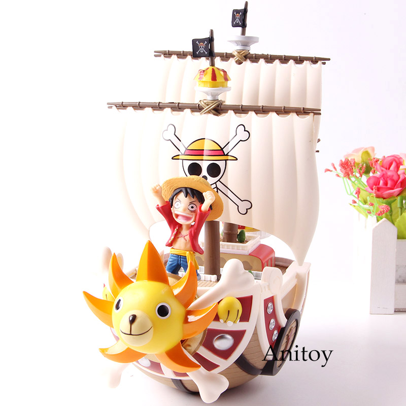 Banpresto One Piece World Collectable Figure MEGA Thousand Sunny Luffy WCF MG SP SPECIAL!! Action Figure Model Toys