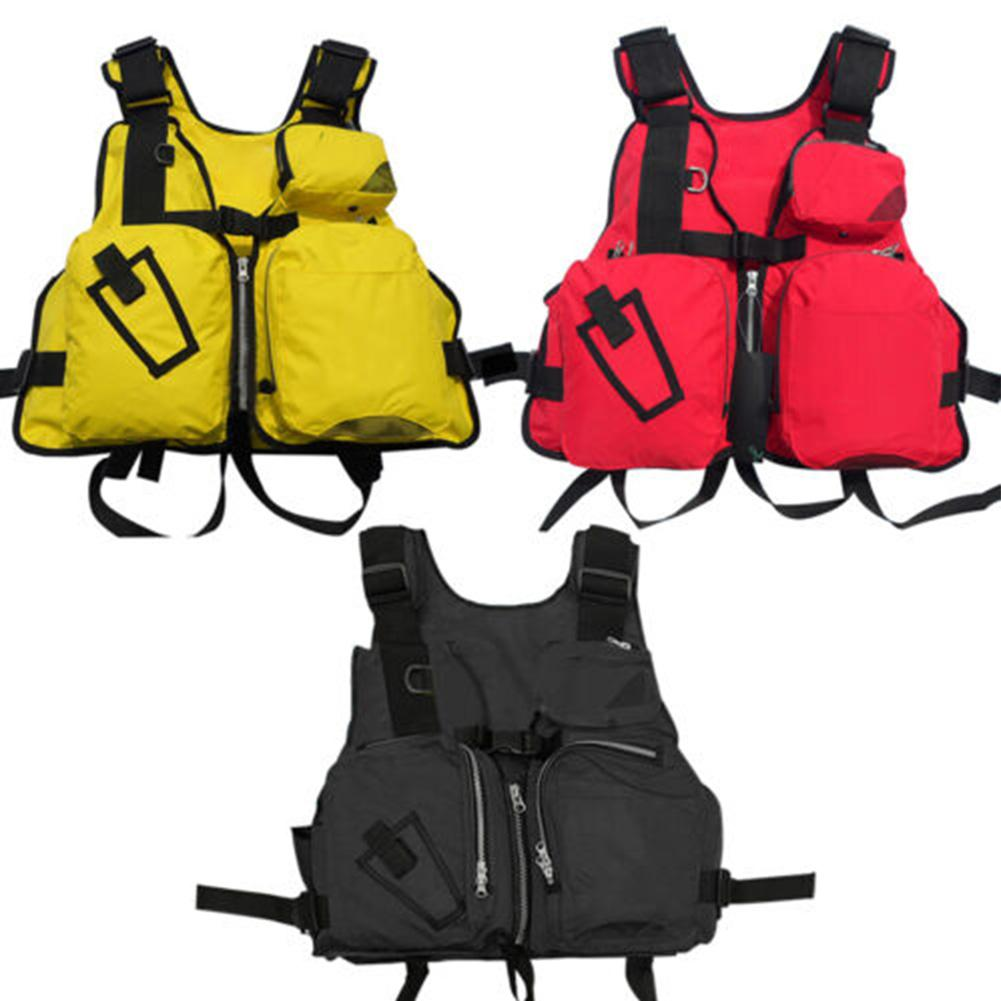 Mounchain Adjustable Buoyancy Aid Sailing Kayak Canoeing Fishing Life Jacket For Adult 130cm Length Suit For 95kg