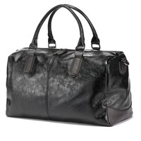 Men Travel Bags Leather Duffle Luggage Weekend Duffel Bag Man Borse Donna Grandi Waterproof Tote Handbags Bolsas Masculina
