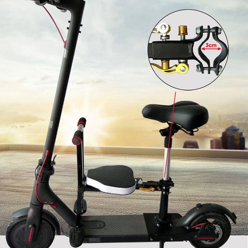 Moto scooter Bébé Enfant Siège de Sécurité Pour Xiaomi trottinette électrique Devant Dos chaise d'enfant Avec passoire ceinture de sécurité Cadeaux
