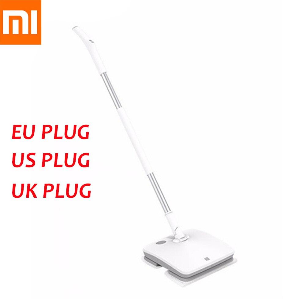 Xiaomi Mijia SWDK D260 vadrouille électrique de poche sans fil essuie-glace plancher rondelle humide Robot ménage nettoyage machine lumière LED