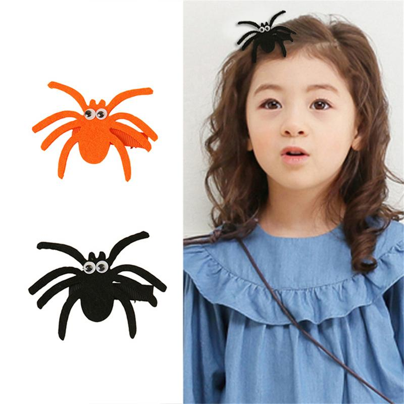 Halloween Tricky Horrible Spider Hairband Festival Party Tricky Small Hairband Hairpin For Child Hair Accessories Wholesale