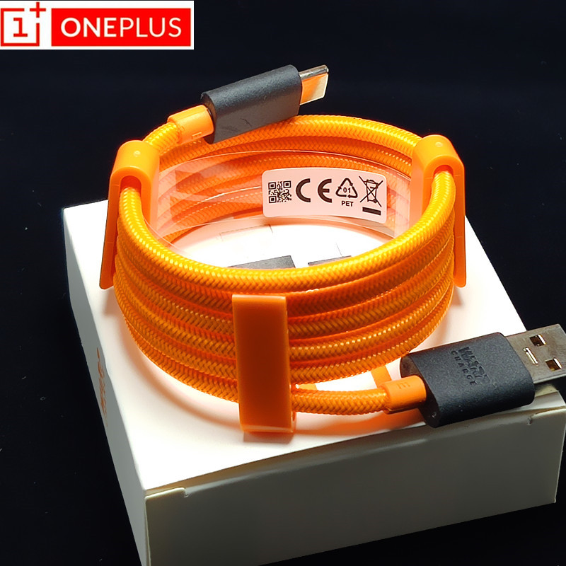 XIAOMI Warp Cable Oneplus Usb type-C Fast-Charging Original 5V4A for 7-pro/3-3t-5/5t