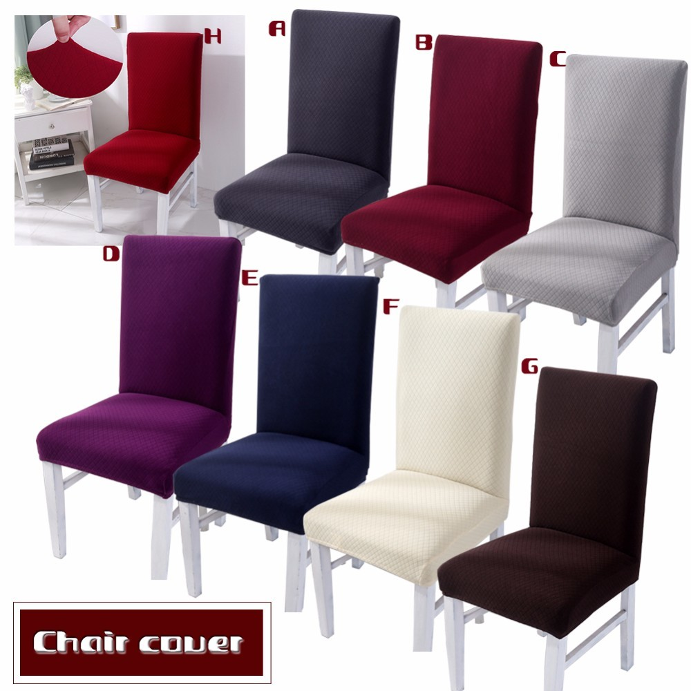 9 Color Dining Chair Covers Spandex Stretch Dining Room