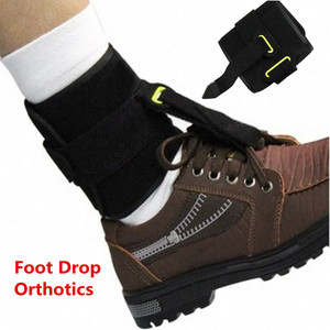 Ankle Joint Foot Drop Orthosis Adjustable Ankle Brace Correction Supports Strap Plantar Fasciitis Day Night Splint Orthotics(China)