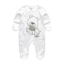 2019 Baby Rompers Newborn Baby Girl Clothes Full Sleeve Baby Boy Clothes Roupas de bebe Cotton Outwear Spring Fall Pajamas Star