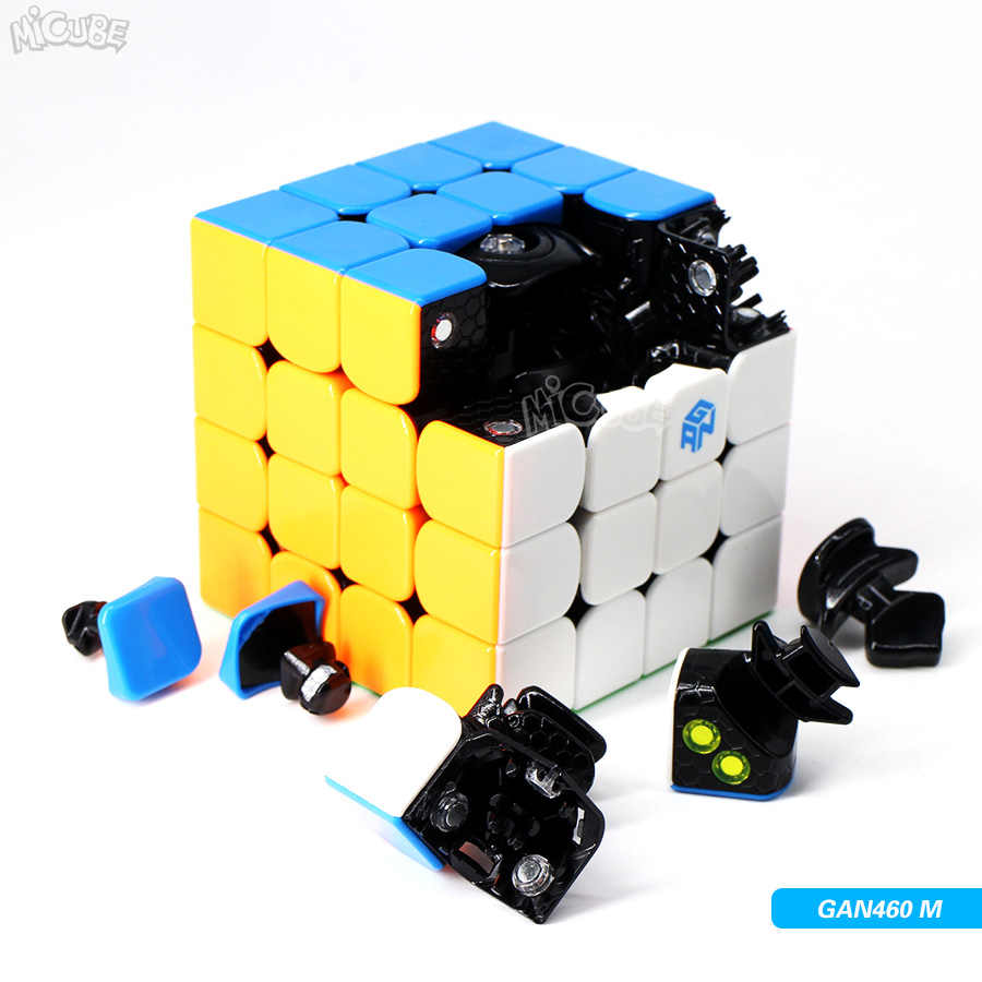 Магнитный куб Gan Magic speed Cube 2x2x2 3x3x3 4x4x4 GAN 356 Air SM 354M 460M 249 v2 M 356x Stikerelss Magnetc
