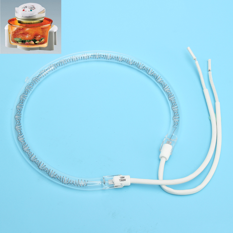 GF 1Pc Replacement Halogen Flavorwave Turbo Oven Bulb Lamp Heating Element 220V