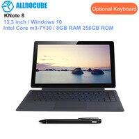 ALLDOCUBE KNote 8 планшеты 2 в 1 планшеты PC 13,3 дюймов оконные рамы 10 Intel Core m3 7Y30 Dual Core ГБ оперативная память 256 встроенная Тип C 2560*1440