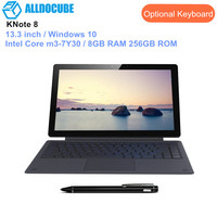 ALLDOCUBE KNote 8 Tablets 2 In 1 Tablet PC 13.3 Inch Windows 10 Intel Core m3 7Y30 Dual Core 8GB RAM 256GB ROM Type C 2560*1440