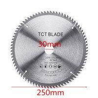 250x2.8x30mx80Teech TCT Hard Alloy Saw Blade for Wood Metal Multi functional Circular Saw Blade for Cutting Wood and Metal Tool