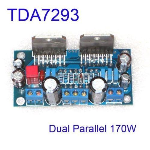 DYKB TDA7293 Amplifier Dual Parallel 170W BTL Mono Audio Power Amplifier AMP Board Assembled