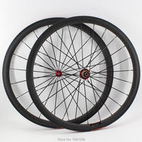 Newest OEM 700C 38mm tubular rims Road bicycle matt 12K full carbon fibre bike wheelsets hubs aero spokes skewers Free shipping
