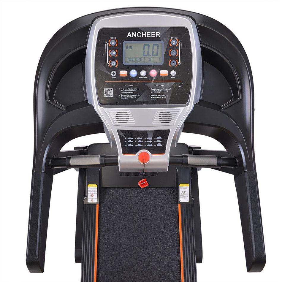 Tapis roulant électrique pliant muet d'intérieur de 2.25HP exécutent l'équipement d'entraînement de forme physique de Machine de forme physique à la maison - 6