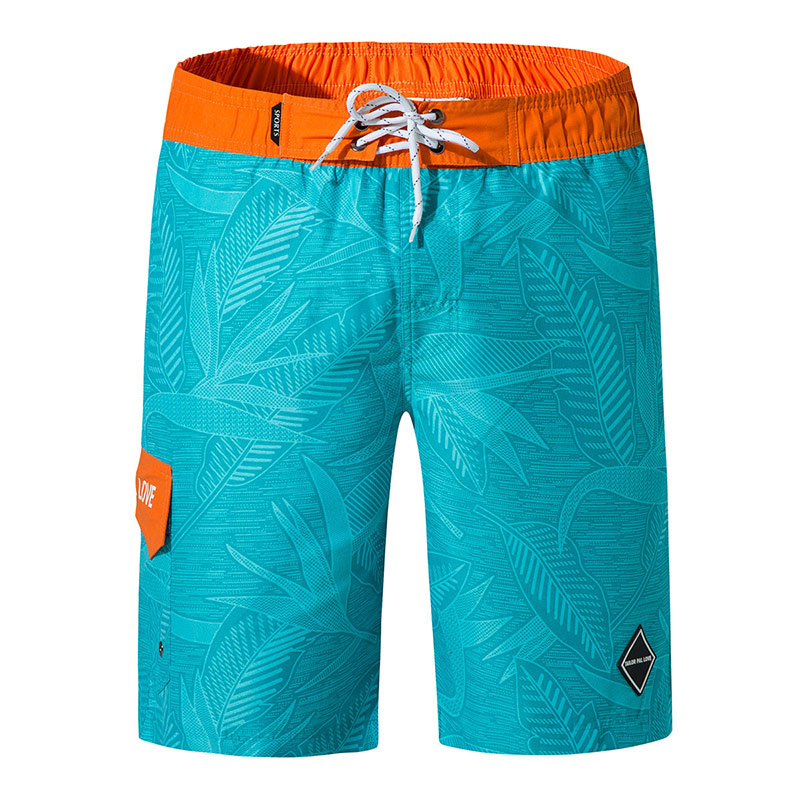 2019 New Print   Shorts   Men Summer Breathable Men   Board     Shorts   Swimming   Shorts   Solid Surfing Trousers Man   Shorts   Running Pant 3XL