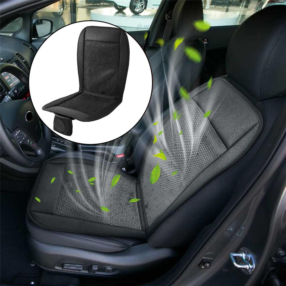 12V Summer Car Seat Cushion Cover Cooling Air Ventilated Fan Cushion Conditioned Cooler Pad Ventilation Cushion