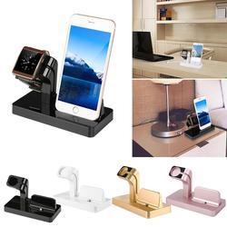 Grupo vertical estação doca de carregamento vertical carregador suporte do telefone para apple assistir série 4 3 2 1 para iphone r20