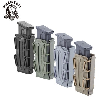 Hot 9mm Molle Pistol Mag Military Magazine Pouch Holster Fastmag With Belt Clip And Molle Soft Shell Mag Pouch Plastic Pouch подсумок под магазин tasmanian tiger sgl mag pouch hz bel