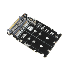 NGFF M 2 SSD M Key to U 2 Adapter 2 in 1 M2 NVMe SATA