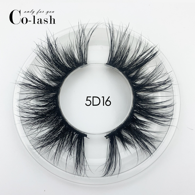 Colash Custom box Mink Eyelashes Thick Natural Long False Eyelashes High Volume Mink Lashes Soft Dramatic Eye lashes New Makeup 4