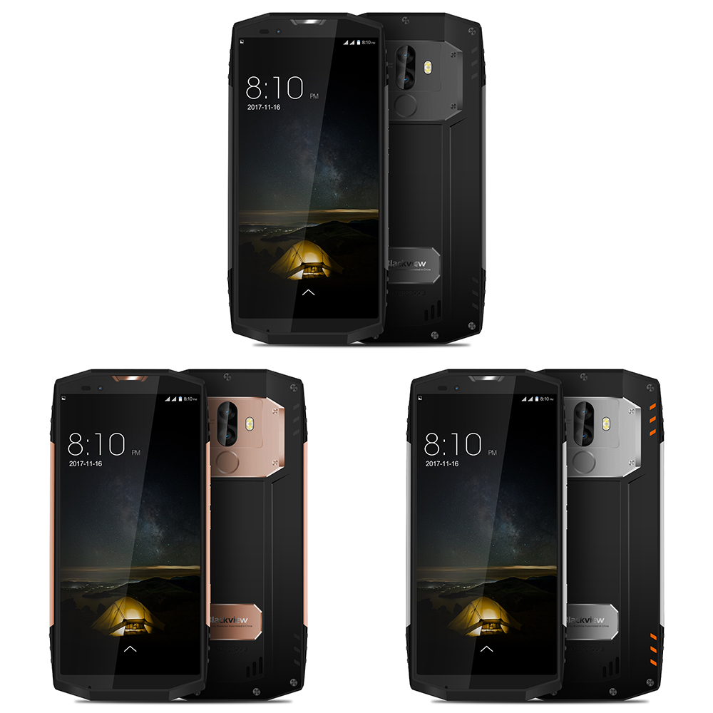 "BLACKVIEW BV9000 PRO IP68 Waterproof shockproof mobile phone 4180mAh 6GB+128GB 5.7"" Android 7.1 P25 Octa Core 4G Smartphone"