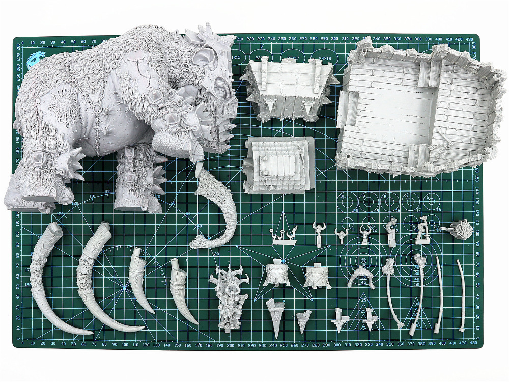Image 4 - Chaos War Mammoth-in Model Building Kits from Toys & Hobbies