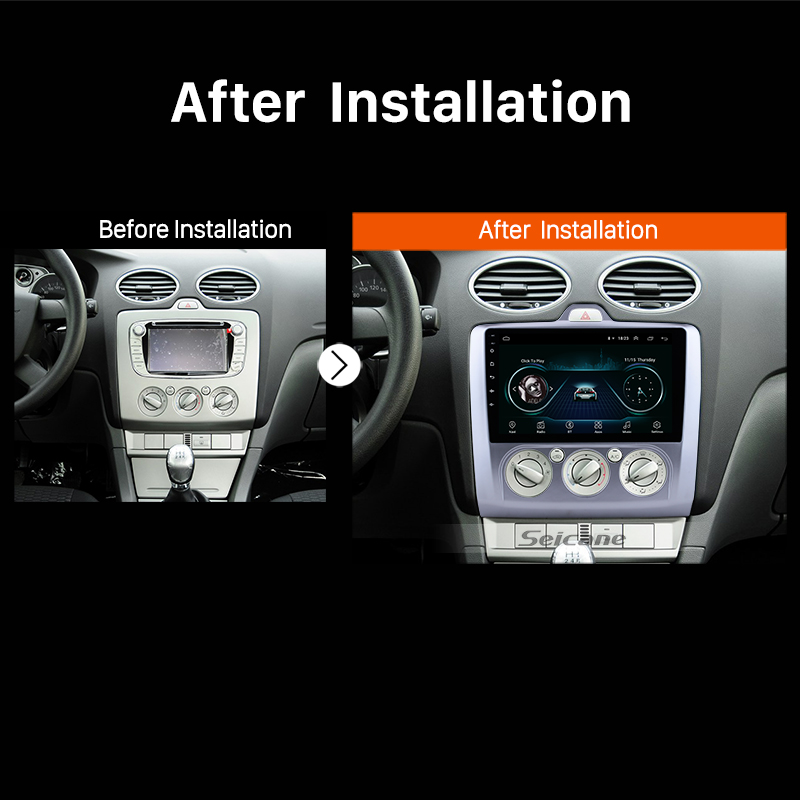Seicane Android 8 1 9 Car Radio For Ford Focus 2 Exi Mt 2004 2005 2006 2007 2008 2009 2010 2017 2din Gps Multimedia Player In From