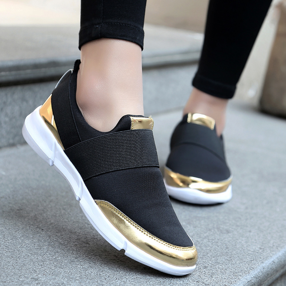 New 2019 Flat Shoes Soft Running Shoes