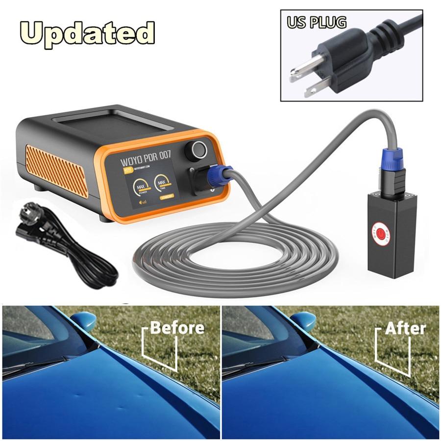 Обновлен авто инструмент для восстановления кузова краски дент ремонт инструмент индукционный нагреватель для удаления вмятин набор гара