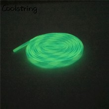Coolstring Trend Personality Sport Flat Glow In The Dark Shoelaces Men Women Night Luminous Shoe Laces For Sneakers Canvas Shoes
