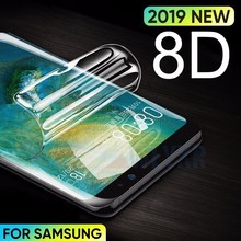 8D Soft Hydrogel Film Strengthen Protective For Samsung Galaxy S9 8 S10 S10E Plus Note 9 S7 S6 Edge Screen Protector