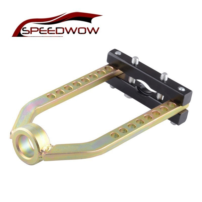 SPEEDWOW Universal Car CV Joint Puller Transmission Drive Shaft Removal Tool Adjustable 9 Hole Ball Cage Separator