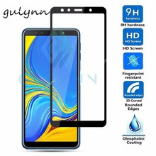 Screen Protector For Samsung Galaxy J3 J4 J6 J7 8 2018 Plus A8 6 2018 Full Cover Tempered Glass For A730F A750F Safety Glass full cover tempered glass for samsung galaxy a8 2018 a730 a730f a730f ds duos plus a8 plus screen protective black display case
