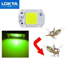 10PCS Mosquito repellent COB Chip 20W 30W 50W  540nm~565nm AC 220V/110V DIY for LED