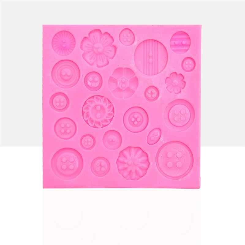 1 шт. формы кнопки силиконовые формы для выпечки инструменты для украшения торта конфеты мандант десерт кубик льда Форма для шоколада