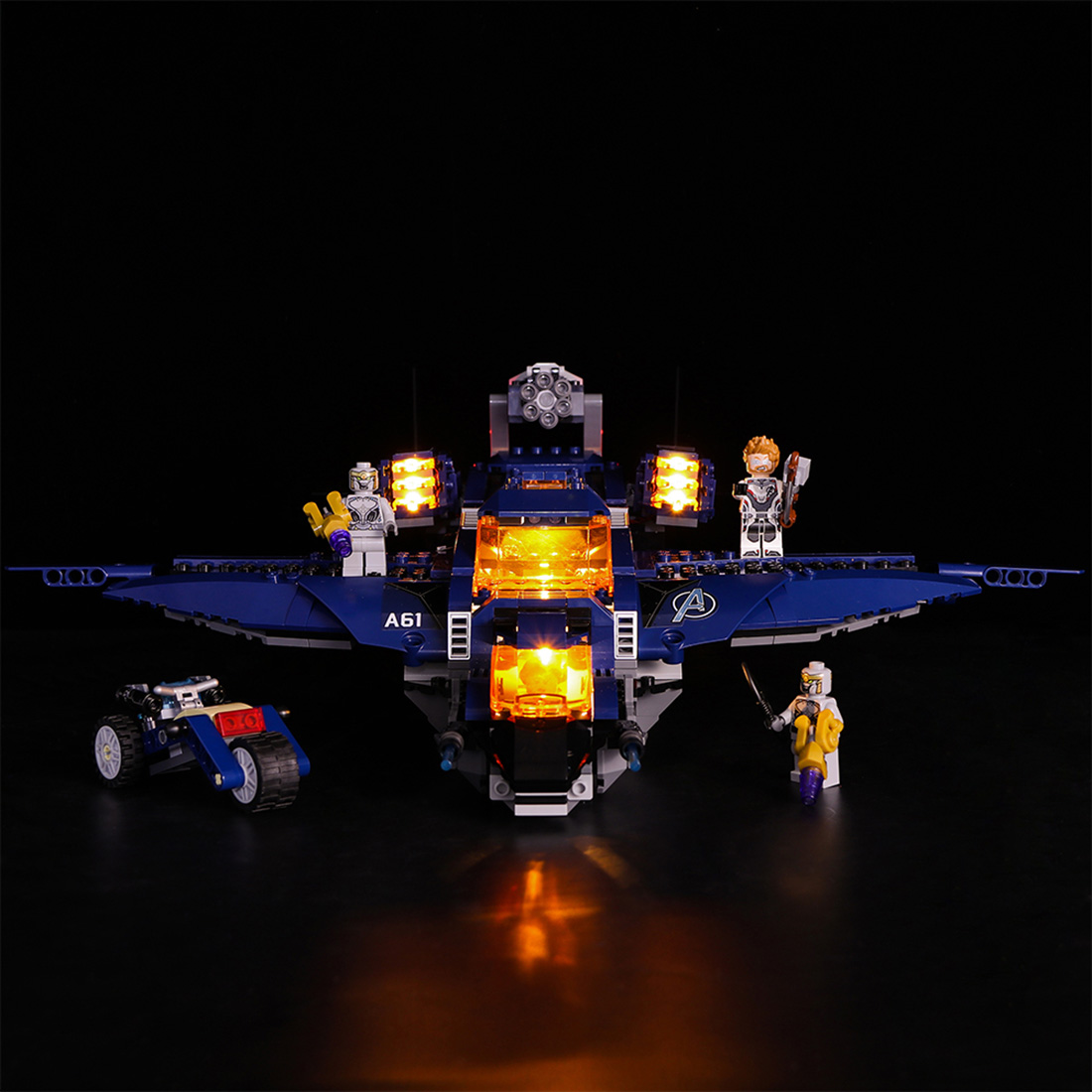 Vonado Battery Operated LED Light Building Block RC Style Modified Kit For QuinJet 76126 (LED Included Only,No Kit) PomotionVonado Battery Operated LED Light Building Block RC Style Modified Kit For QuinJet 76126 (LED Included Only,No Kit) Pomotion