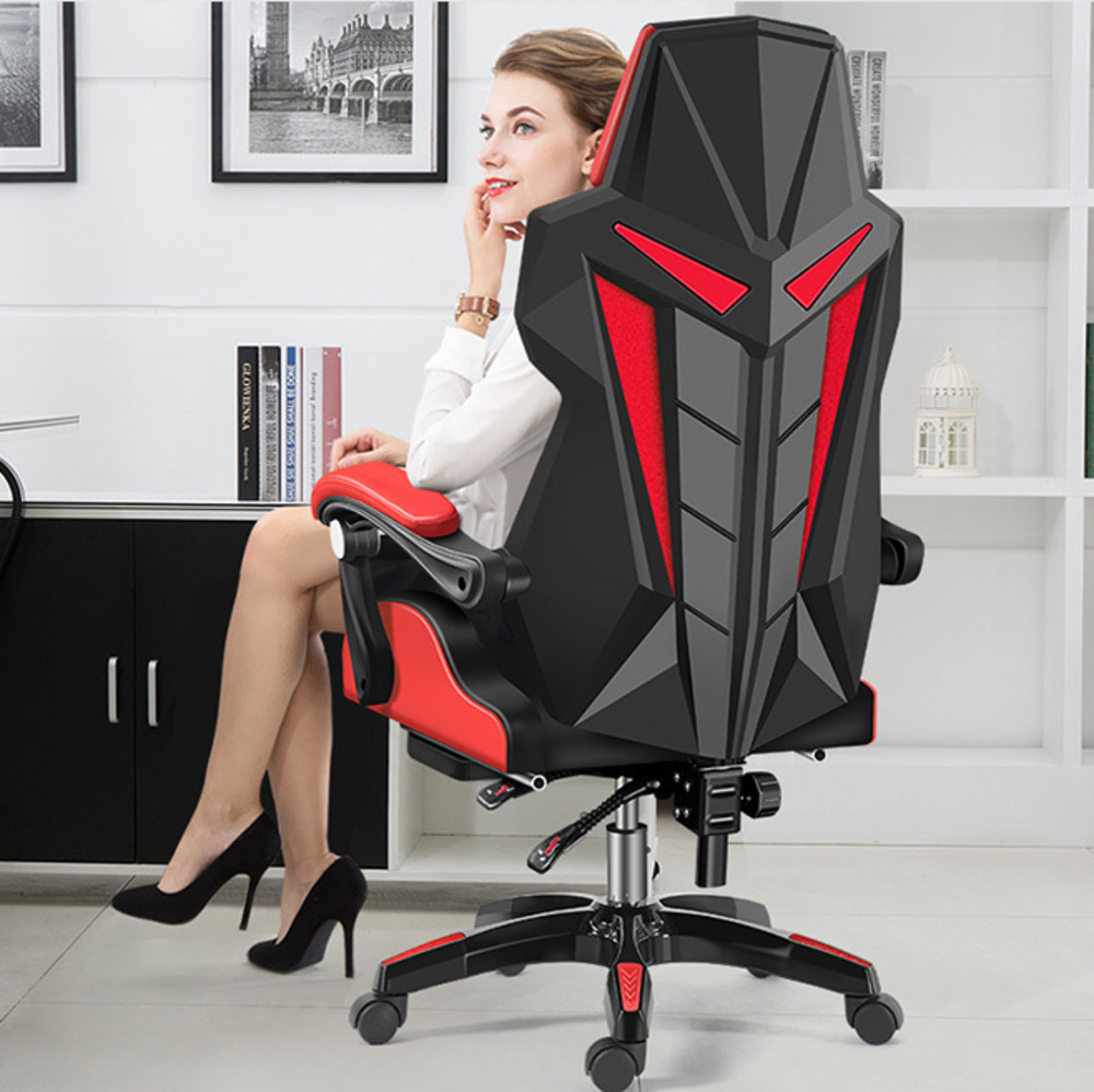 NEWThe REK's Computer To In An leather executive Office furniture Lie Son Leisure Time Chair Net Revolving Competition Recommend