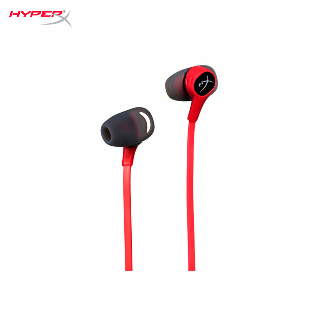 Earphones HyperX Cloud Earbuds HX-HSCEB-RD computer wired headset gaming CS:GO esports mobile portable wireless bluetooth headphone v4 0 sports earphone gym headset with mic earbuds universal for iphone7 xiaomi mobile phone