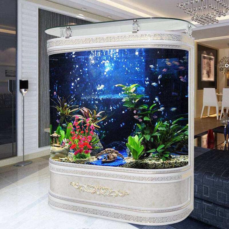 New Arrival Landscaping Ornamental Simulation Grass Water Decor Aquarium Decoration For Fish Tank Aquarium Supplier