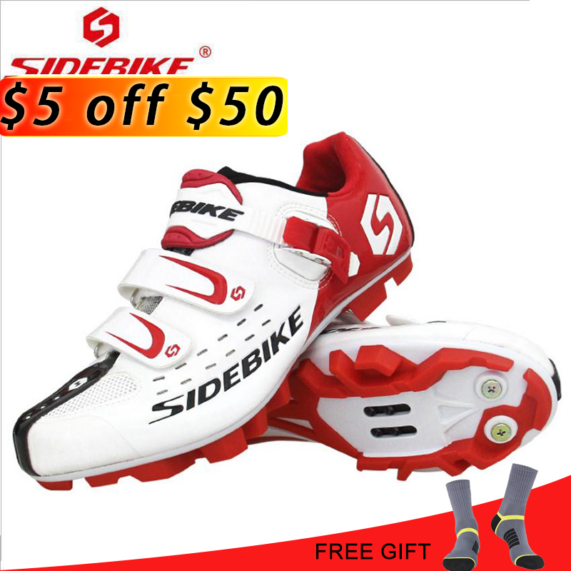 SIDEBIKE Ventilation Cycling Shoes 2018 Men Pro Mountain Bike Shoes Self-Locking Athletic MTB Bicycle Shoes Zapatillas Ciclismo все цены