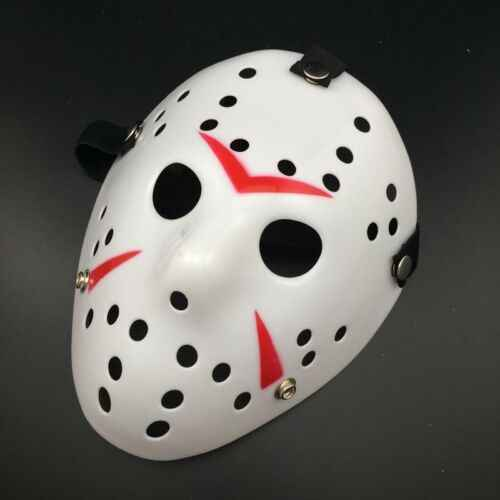 1pc Jason Voorhees Masks Full Face Horror Movie Hockey Mask Scary Halloween Mask Festival Party Accessories New Hot
