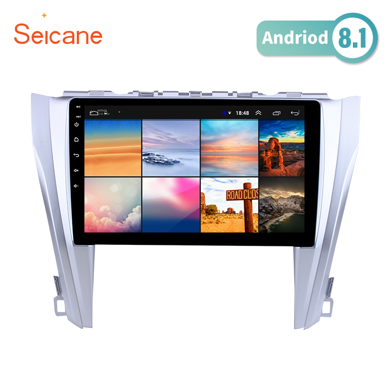 Seicane 10.1 inch Android 8.1 GPS Navigation System Radio For 2015 2016 2017 Toyota Camry Steering Wheel Control Bluetooth HD Seicane 10.1 inch Android 8.1 GPS Navigation System Radio For 2015 2016 2017 Toyota Camry Steering Wheel Control Bluetooth HD