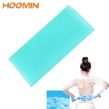 Bath Sponge Bath Towel Shower Nylon Mesh Body Cleaning Mesh Washcloths Skin Cuticle Grease Remover Soap Shower Gel Foams Maker(China)