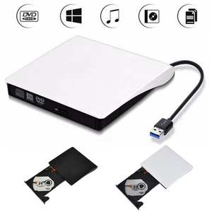 External DVD Drive For Laptop PC MAC Player USB 3.0 CD-RW Eject Reader Recorder