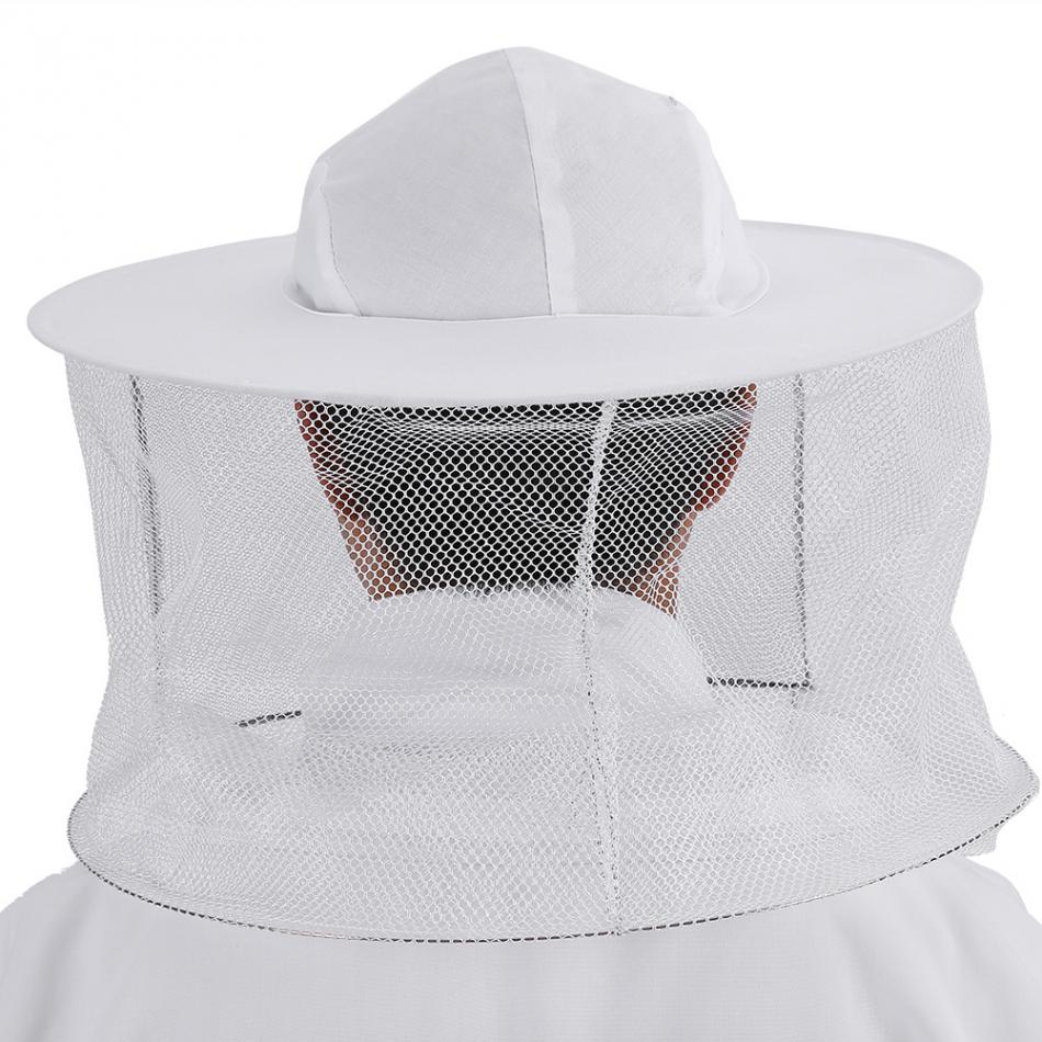 Image 4 - Cotton Beekeepers Bee Suit Professional Full Body Bee Remover Gloves Hat Clothes Jaket Protective Suit Beekeeping Equipment-in Protective Clothing from Home & Garden