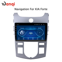 9 inch android 8.1 Car Radio DVD Player for KIA forte 2009 2014 GPS Navigation with DVR Camera Rear Mirror link