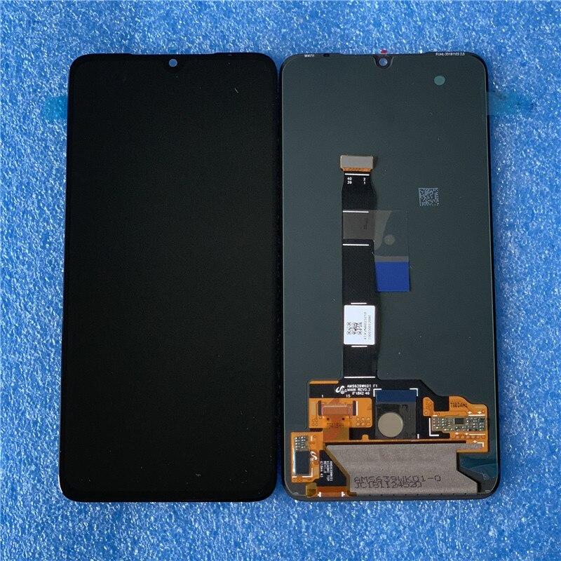 Axisinternational Original AMOLED Moldura do LCD Para 6.39